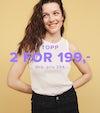 Topp 2 for 199,-