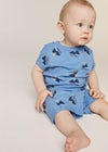 baby in blue set