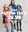 Puffer-takki 29,99
