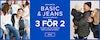 Basic & jeans 3 för 2