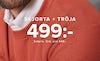 skjorta + tröja 499:-