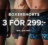 boxershorts 3 för 299:-