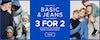 Basic & jeans 3 for 2