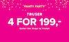 truser 4 for 199,-